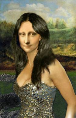 New Age Mona Lisa