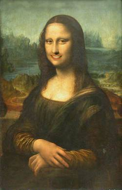 new Mona Lisa smile
