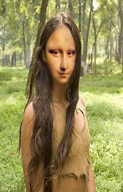 New World Mona Lisa