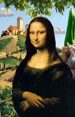 'old' lisa, new scenery