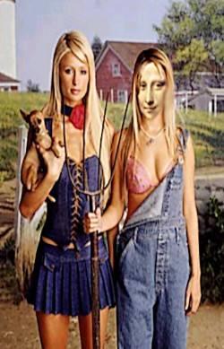 Paris and Mona