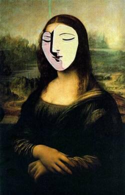 Picasso's Mona Lisa