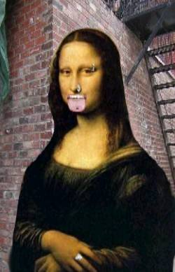 Piercing Mona Lisa