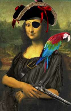 Pirate mona