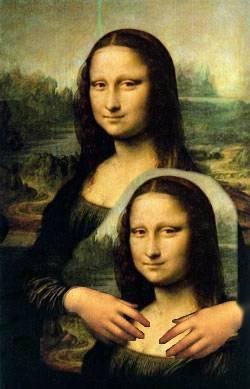 """""""wow,she's look like me!!"""""""