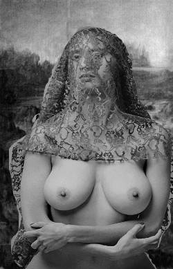 Real naked Mona Lisa