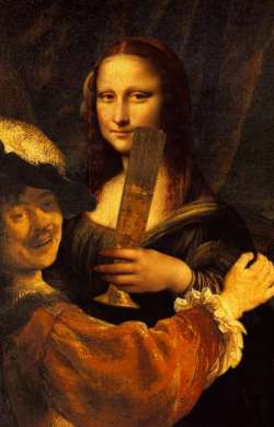 rembrandt and mona2