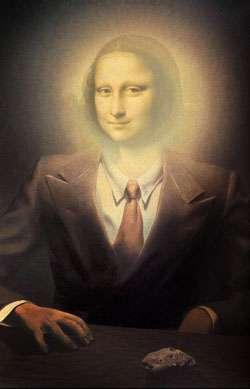 René Magrittes Mona