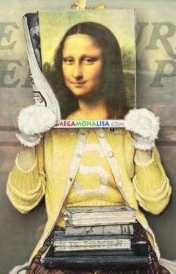 Rockwell Mona Lisa