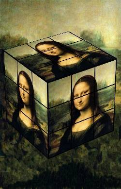 Rubik's cube Mona The end