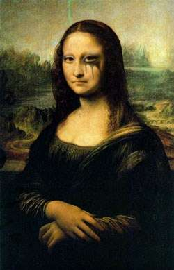 sad Mona Lisa