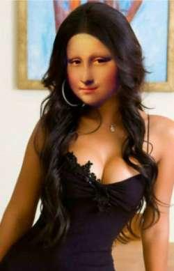 Sexy Babe Mona Lisa