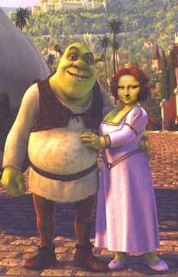 shrek and mona