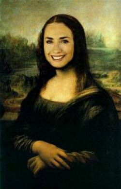 silly mona lisa