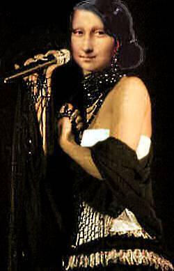 singing mona