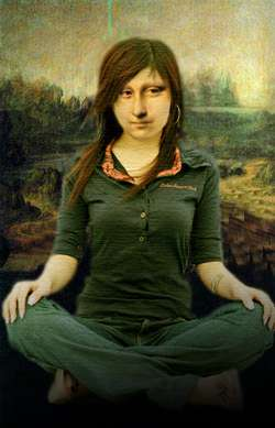 sitting lisa
