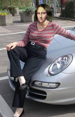 Sports Car Lisa