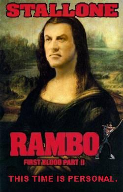 Stallonelisa in RAMBO II