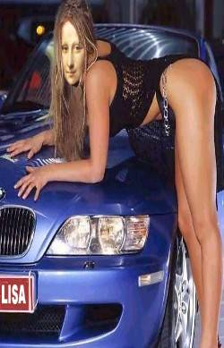 The car of Mona Lisa