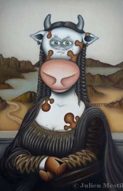 The Da Vinci cow