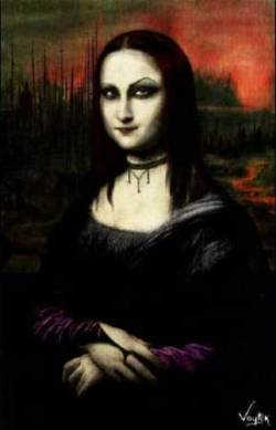 The Real Goth Monalisa