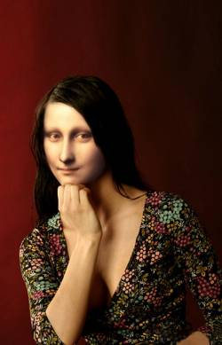 Thoughtful Mona Lisa