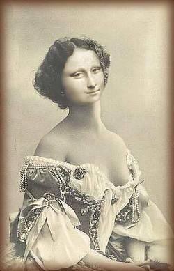 Victorian Mona Lisa