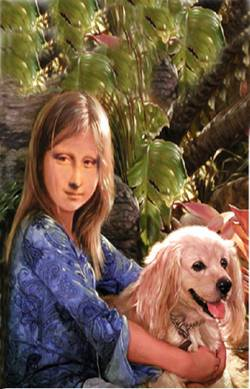 young Mona Lisa