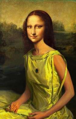Young Mona