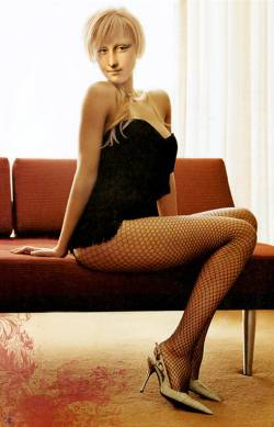 Young Woman in Panty Hose